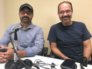 Profesores Rafael Caballero y José Alicea Pou | Contaminación Lumínica