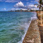 Muralla de Ocean Park para proteger las propiedades del alza en el nivel del mar | Cambio Climático, Alza Del Nivel Del Mar y Erosión Costera | Hablando De Tecnología | foto: Orlando Mergal