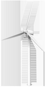 Turbina Eólica | Visita la página de GreenGeeks | Compañías Afiliadas