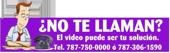Banner servicio de producción de video