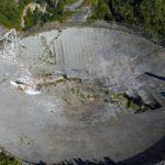 Radiotelescopio de Arecibo en el año 2020