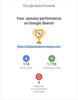 Informe de Google Search Console | Contenido Fresco y Relevante, El 1% Que No Ha Cambiado